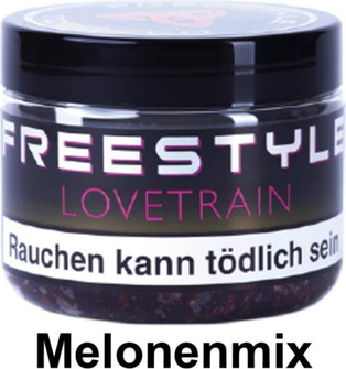 "WP-Tabak Freestyle ""Lovetrain"" 150gr-Dose"