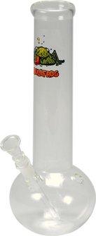 """Bong Glas """"Bullfrog Bouncer"""" ger. bauchig 29cm, Ø50mm,14.5er"""