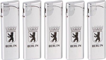 """GO Slider Mehrweg-Piezo """"Berlin/Wappen"""" silber"""