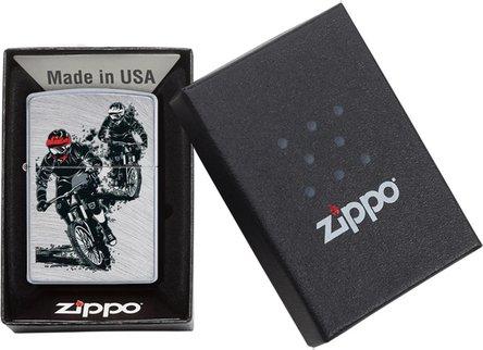 "Org.ZIPPO Chrome Arch color ""Motorcross"" 60004575"