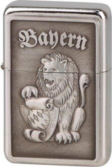 "COOL Benziner Plak.""Bayern""/chrom poliert"