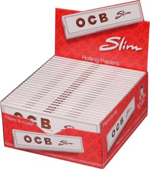 OCB WEISS EXTRA LONG Slim Zigtt.Pap.(je 50 Heftchen)