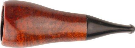 Cigarrenspitze Bruyere orange/black 20mm Bohrung