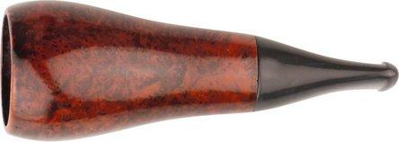 Cigarrenspitze Bruyere orange/black 22mm Bohrung