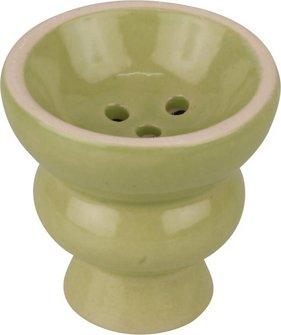 Kopf grün klein für Wasserpfeife