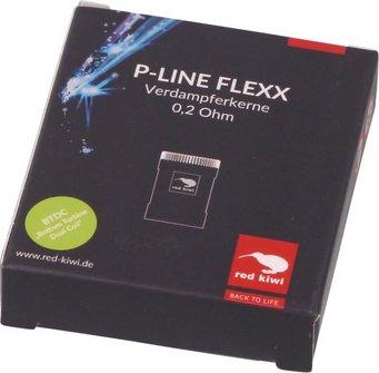 red kiwi Ersatzkerne P-Line NEO FLEXX 0,2Ohm, Inhalt 3 Stück