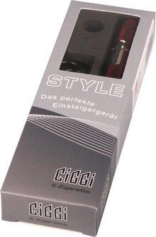E-Zigarette CIGGI STYLE Top-Filler Ice red