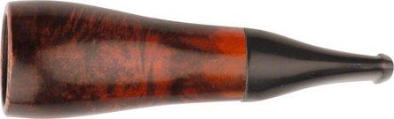 Cigarrenspitze Bruyere orange/black 18mm Bohrung