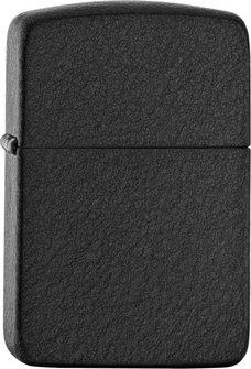 "Org.ZIPPO Black Crackle ""Replica 1941"" 60000665"