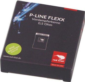 red kiwi Ersatzkerne P-Line NEO FLEXX 0,5Ohm, Inhalt 3 Stück