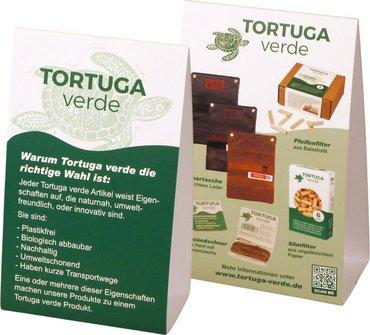 """Stellerschild """"Tortuga verde"""" 16 x 10cm, beidseitig"""