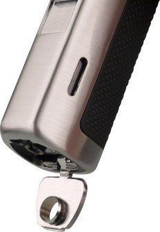 Cigarrenfeuerzeug PASSATORE gun satin 3-erJet