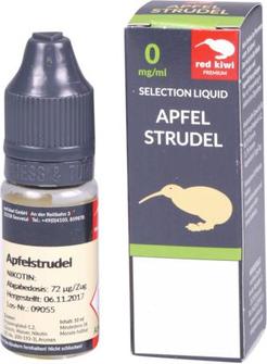 red kiwi Selection Liquid Apfelstrudel None 10ml