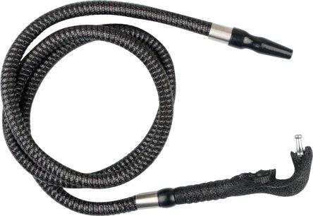 """Schlauch """"Kobra"""" schwarz  ca. 200cm lang"""