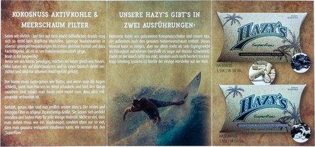 Hazy's Flyer A6 auffaltbar