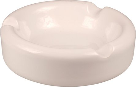 Cigarrenascher Keramik weiß, 3 Ablagen Ø 15.5 cm