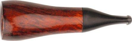 Cigarrenspitze Bruyere orange/black 16mm Bohrung