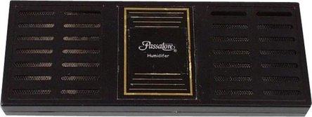 PASSATORE Polymerbefeuchter eckig schwarz für ca.50-100 Cig.