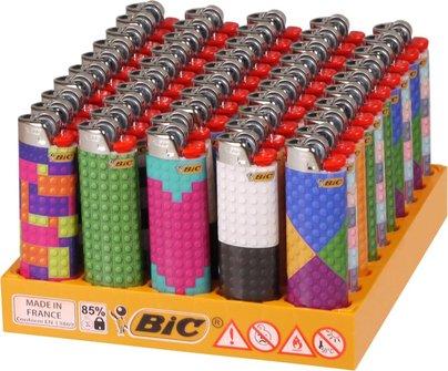 """M A X I  BIC J26 """"Bricks"""" sortiert"""