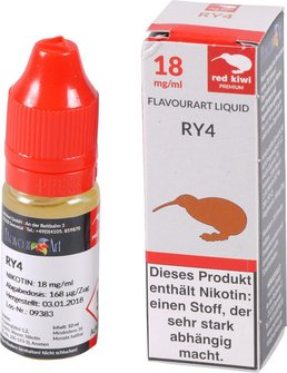 red kiwi FA Liquid RY4 High 10ml