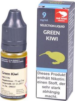 red kiwi Selection Liquid Green Kiwi Medium 10ml