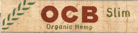 OCB ORGANIC HEMP EXTRA LONG Slim Zigarettenpapier je 50