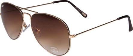 ZIPPO sunglass OB36-02 metal gold, glasses color gradient