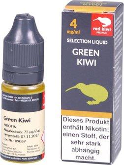 red kiwi Selection Liquid Green Kiwi Low 10ml
