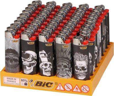 """M A X I  BIC J26 """"Skull"""" sortiert"""