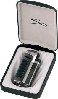 "SKY 4-Fl. Jet-Fzg.  ""X4 Jet"" dark gun satin m.Rundcutter 6mm"