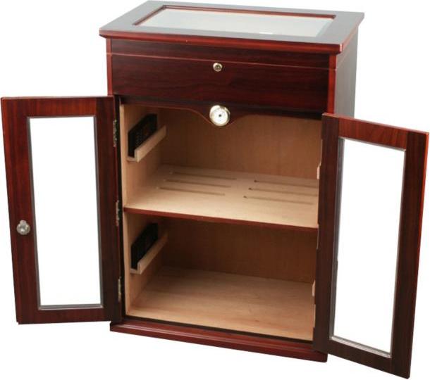 humidor schrank kirschholzdekor f r kisten und lose cigarren humidore cigarren accessoires. Black Bedroom Furniture Sets. Home Design Ideas