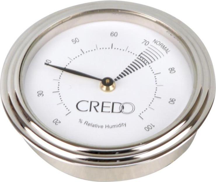 hygromètre chromé credo 55 mm