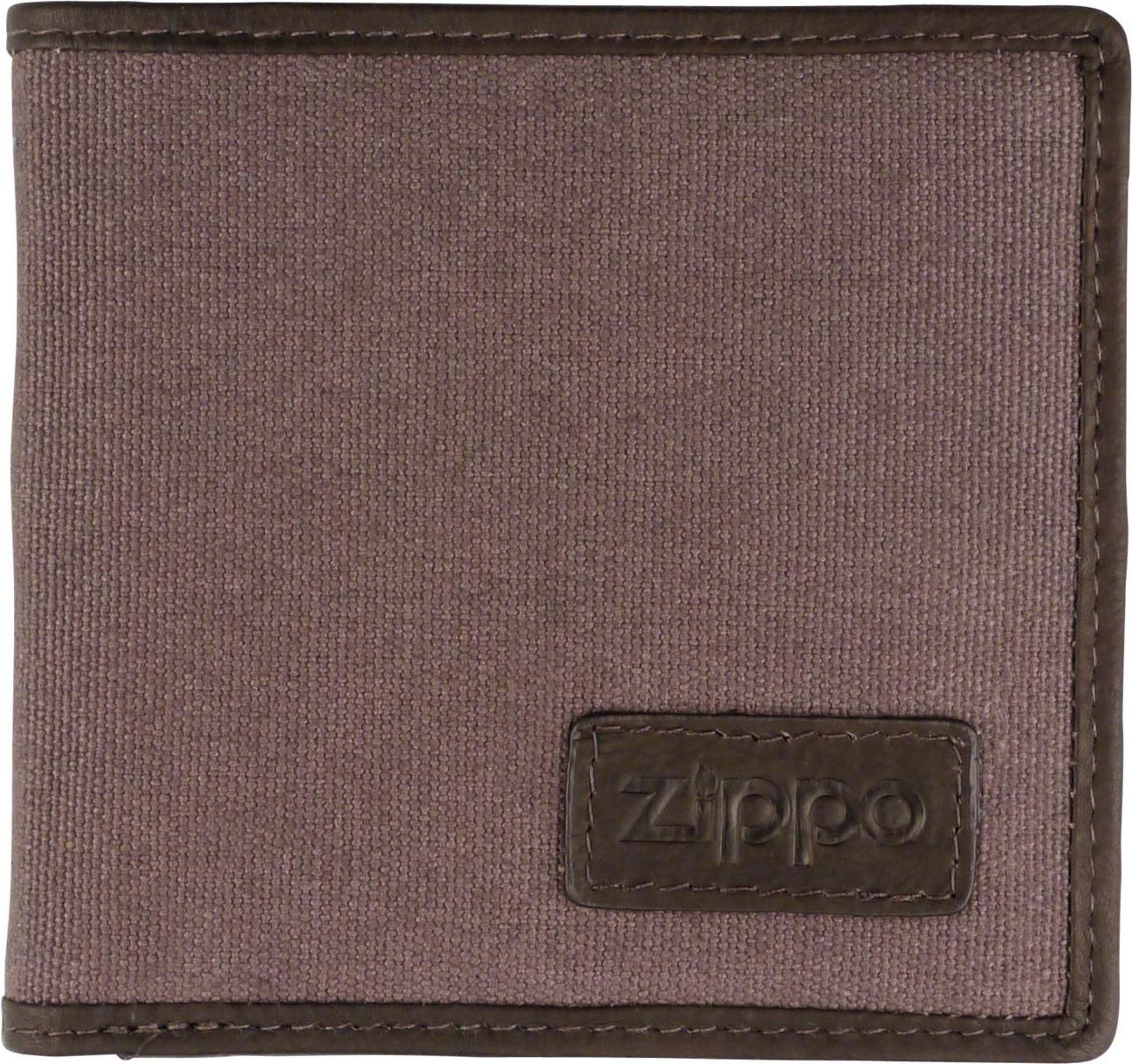 020f72f81840e ZIPPO Herren-Geldbeutel quer Textil innen Leder 2005120 - Zippo ...